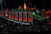 صبر  الإمام الحسين عليه السلام ليلة عاشوراء